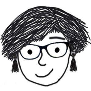drawing of me with short hair